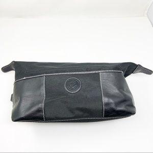 Ecco Black Travel Cosmetic Bag